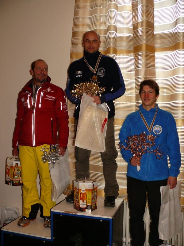 Men winners - Christoff Wandratsch, Rostislav Vitek and Petr Slajs, photo courtesy Jana Navratilova