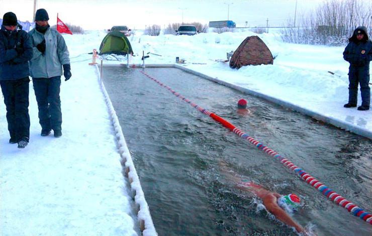 winter Swimming mongolia зурган илэрцүүд