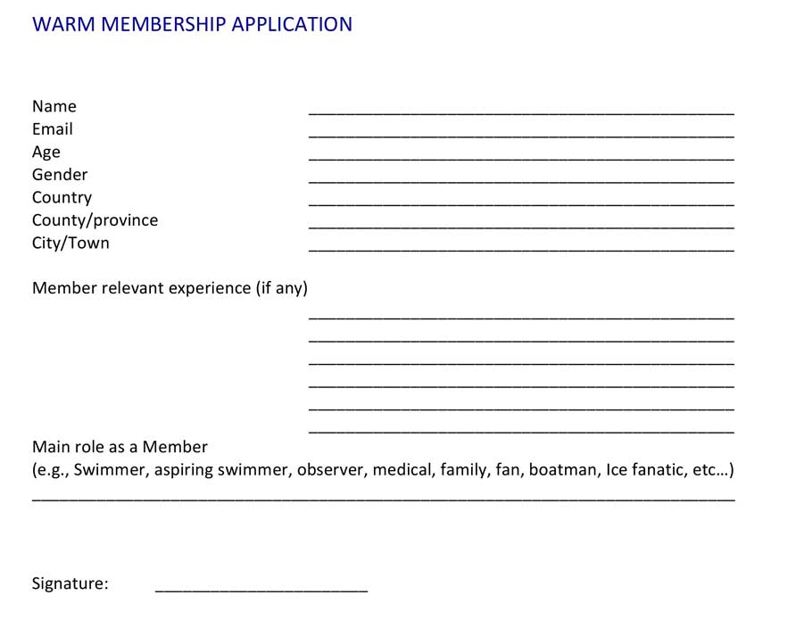 Warm-Membership