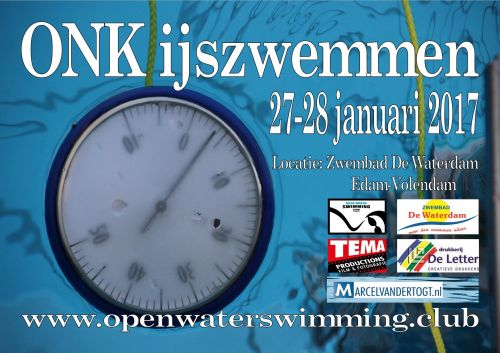 Dutch open ice swim championships 2017 logo
