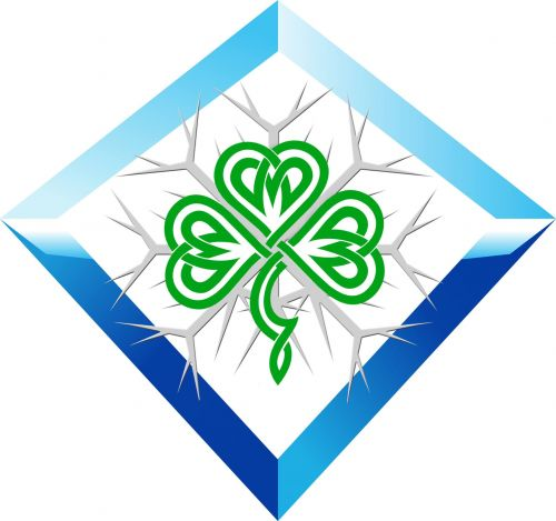 IISA IRELAND ICE MILE logo