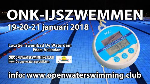 Dutch open ice swimming logo