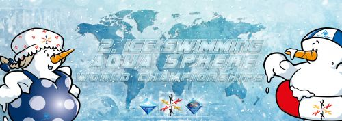 2nd Ice Swimming Aqua Sphere World Championships logo