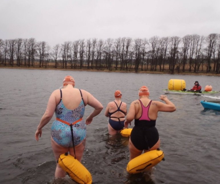Ice Mile Swim - Julie Lloyd