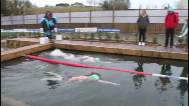 Ice Mile Swim - Padraig Mallon