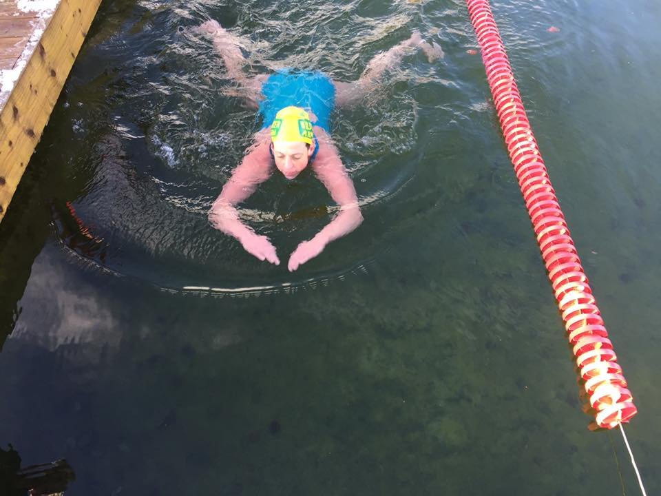 Ice Mile Swim - Claire Ryan