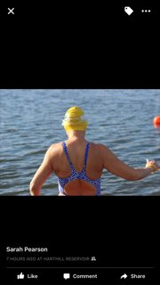 Ice Mile Swim - Catherine Hartle