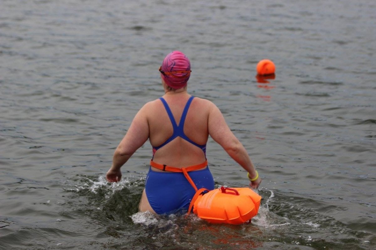 Ice Mile Swim - Jane Mulderrig