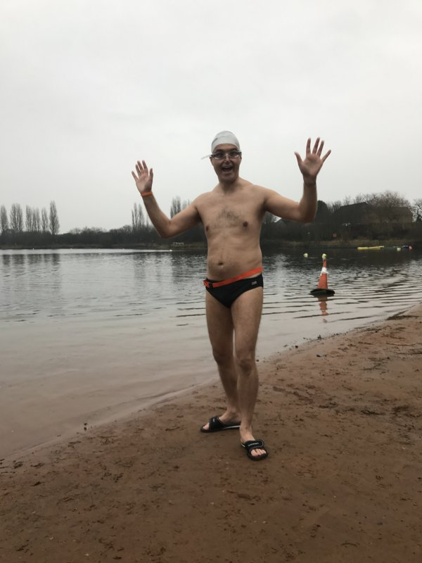 Ice Mile Swim - Mark Guest