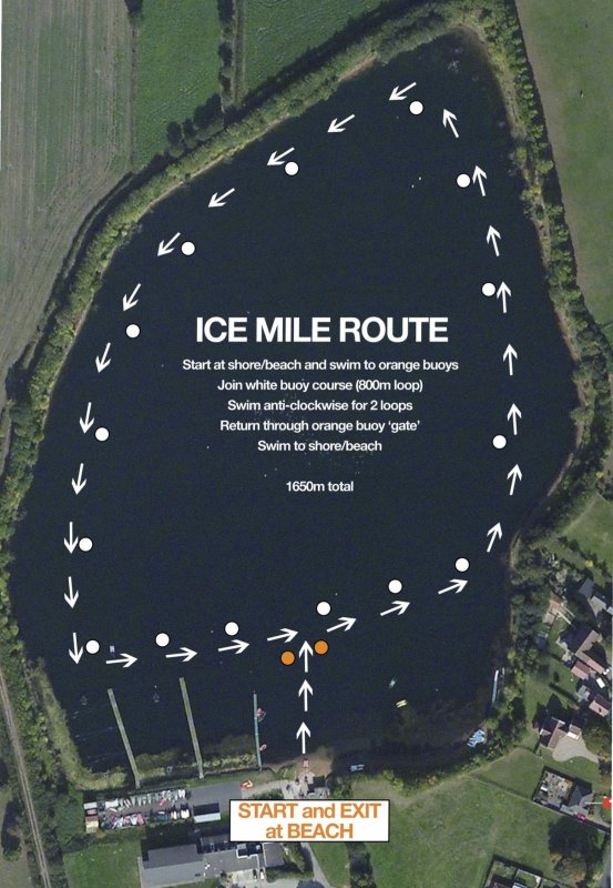 Ice Mile Route