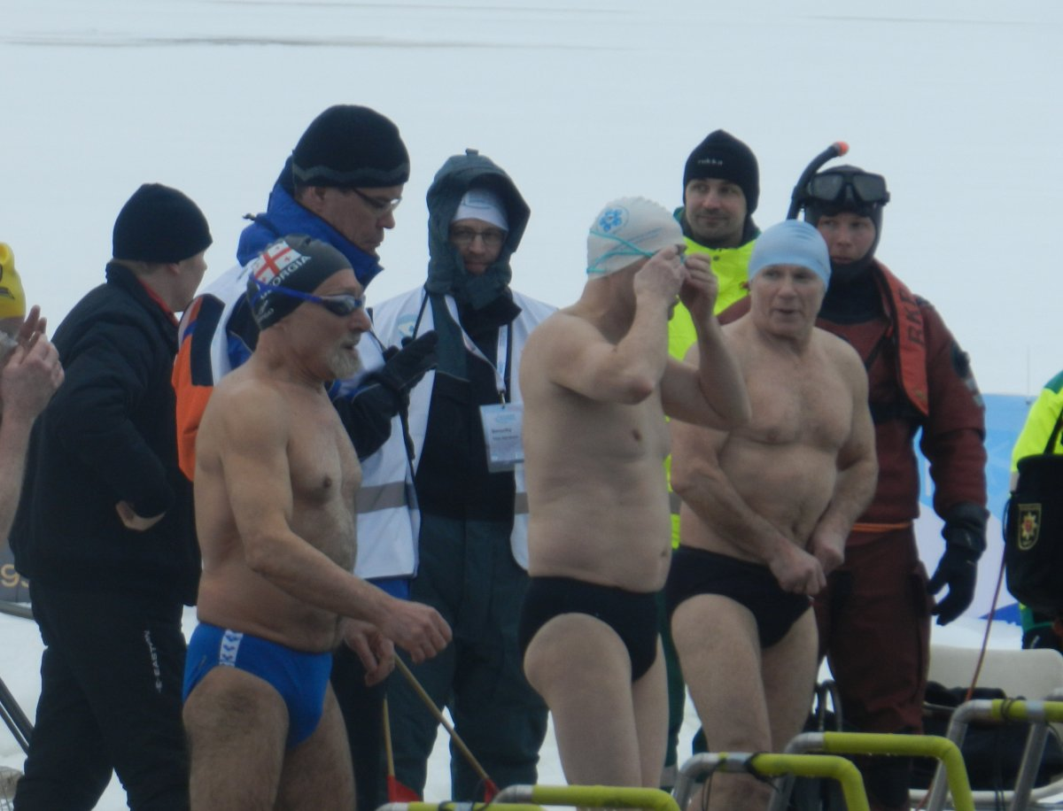 Winter Swimming World Championships Finland